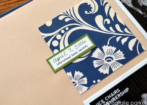 Banquet Scrapbook Layout by Natalie Parker