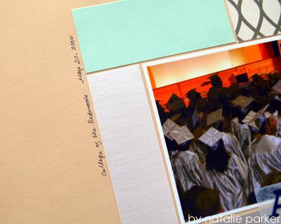 Nursing School Scrapbook Layout by Natalie Parker