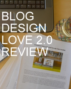 Blog Design Love Review by Natalie Parker