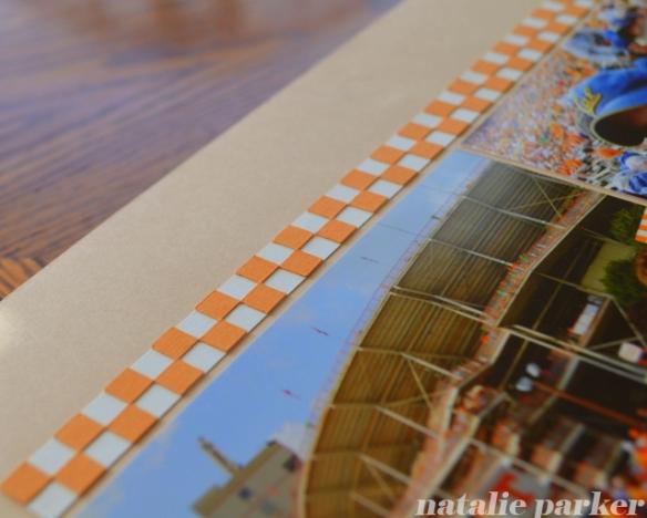 Football Roadtrip Scrapbook Layout by Natalie Parker