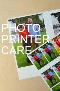 Photo Printer Care by Natalie Parker