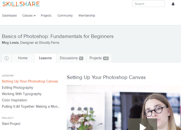 Skillshare Photoshop Review