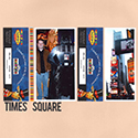 New York Times Square Scrapbook Page
