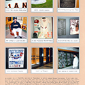 National Baseball Hall of Fame Scrapbook Page
