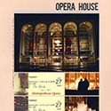 New York Met Opera House Scrapbook Page