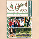 High School Graduation Scrapbook Page