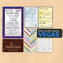 Las Vegas Scrapbook Page