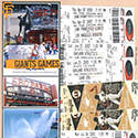 San Francisco Giants Baseball Games Scrapbook Page
