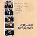 Banquet Scrapbook Page