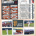 Giants Baseball Games Scrapbook Page