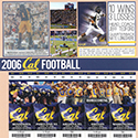 2006 Cal Football Season Scrapbook Pages