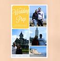 Wedding Prep Scrapbook Page