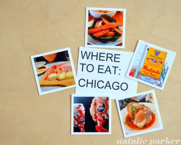Chicago Food by Natalie Parker