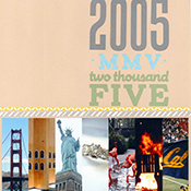 2005 Scrapbook