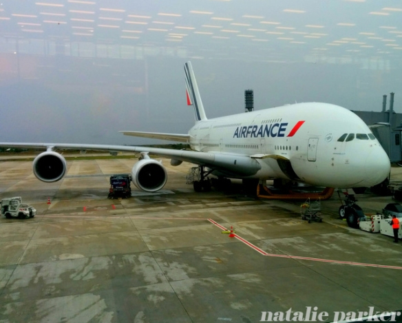 Air France A380 by Natalie Parker