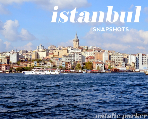 Istanbul Fall 2014 Snapshots by Natalie Parker