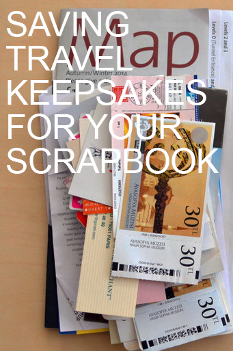 Saving Travel Keepsakes by Natalie Parker