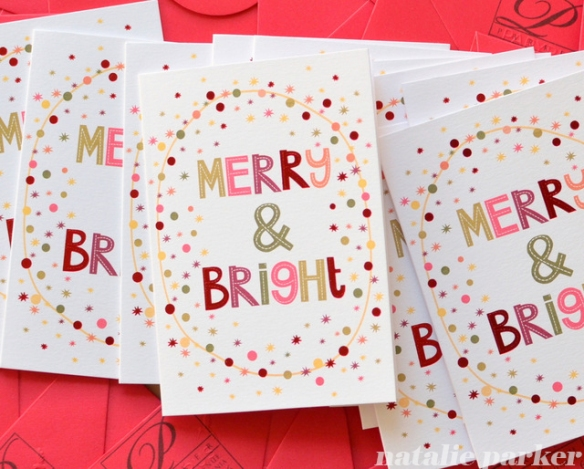 Christmas Cards by Natalie Parker