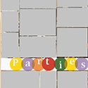 College Parties Scrapbook Page