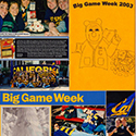 College Rivalry Week Scrapbook Pages