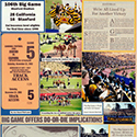 106th Big Game Scrapbook Page