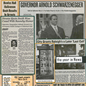 Current Events Scrapbook Page