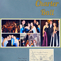 College Formal Scrapbook Pages