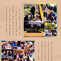 College Service Day Scrapbook Pages