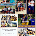 Family Reunion Scrapbook Page