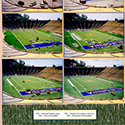 Football Stadium Scrapbook Page