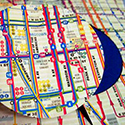 Crafting with Transit Maps