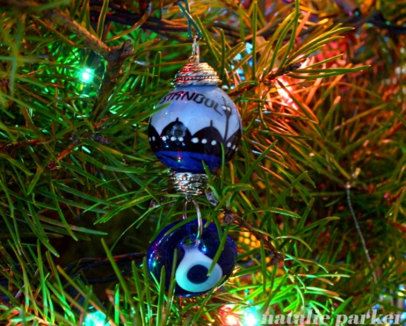 Travel Christmas Ornaments by Natalie Parker