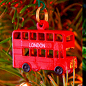 Travel Christmas Ornament