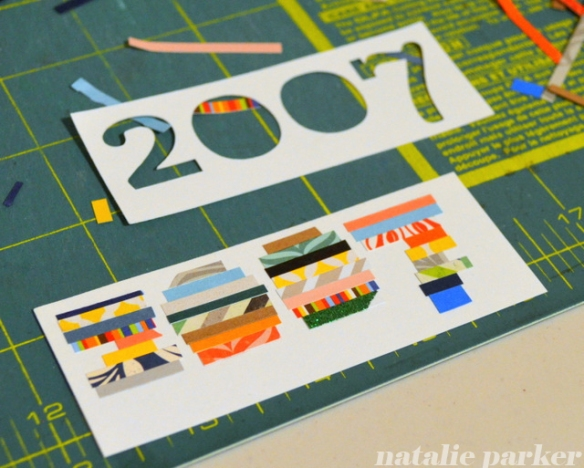 Using Paper Scraps by Natalie Parker