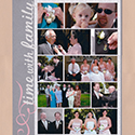 Family Photos Wedding Scrapbook Page