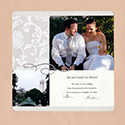 Wedding Scrapbook Introduction Pages