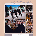 Groomsmen Wedding Scrapbook Page