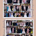 Wedding Family Photos Scrapbook Page