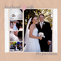 Wedding Portraits Scrapbook Page