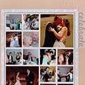 Wedding Reception Scrapbook Page