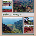 Waimea Canyon Kauai Honeymoon Scrapbook Page