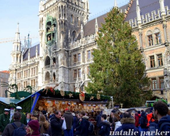 Chrismtas in Munich by Natalie Parker