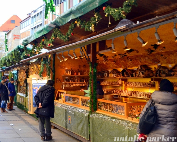Chrismtas in Munich by Natalie Parker