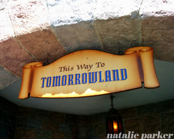 Disneyland Tomorrowland by Natalie Parker