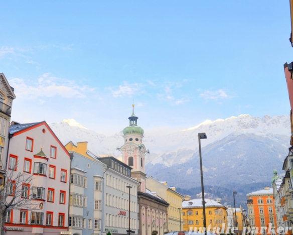 Innsbruck Winter by Natalie Parker