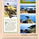 Monterey Trip Scrapbook Page