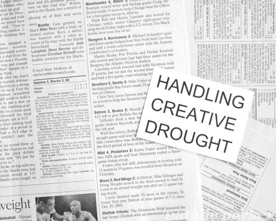 Handling Creative Drought by Natalie Parker
