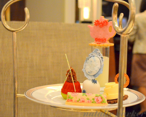 Afternoon Tea at the Langham Hotel by Natalie Parker