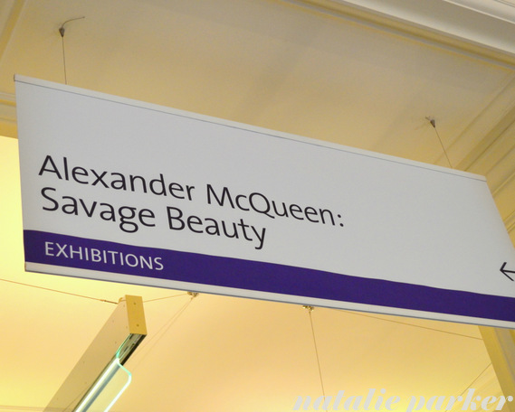 Alexander McQueen Exhibit by Natalie Parker