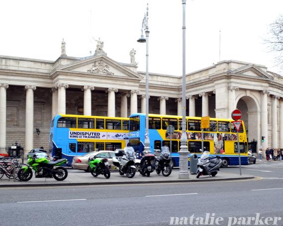 Dublin Ireland Public Transit by Natalie Parker
